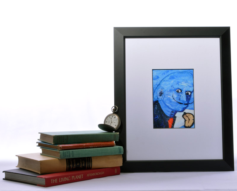 Ode to Dali's Blue Man