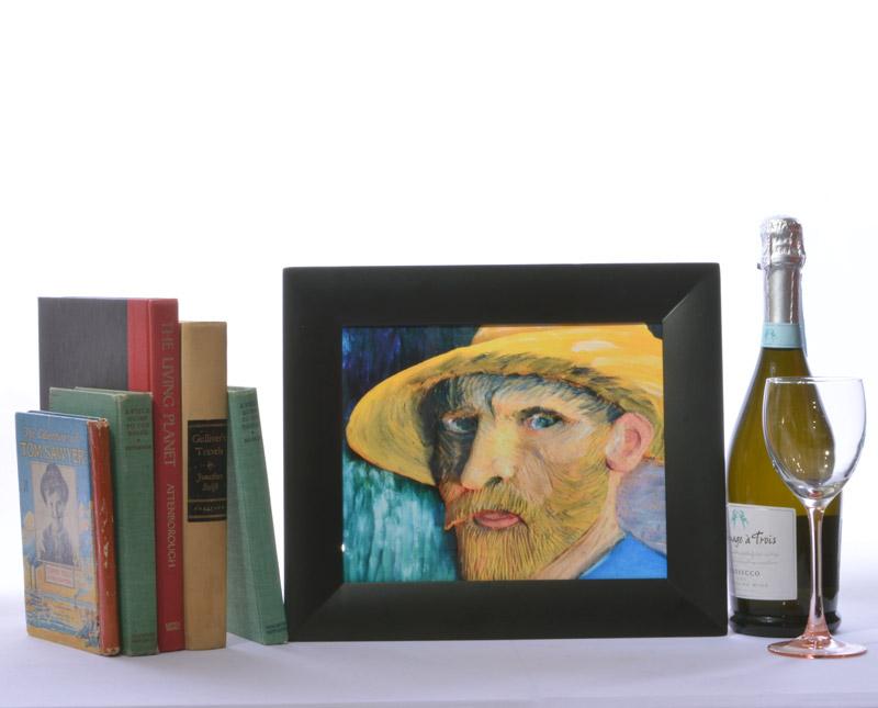 Van Gogh Straw Hat