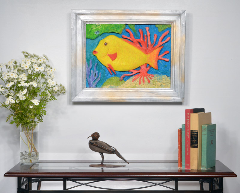 Yellow Fish in Coral